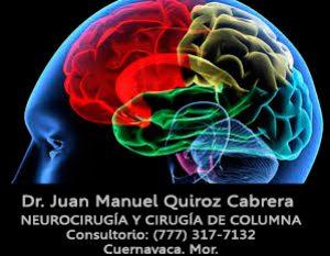 Neurocirujano Especialista en Traumatismo Craneoencefálico y Traumatismo de Columna Precio Especial Consulta $800 MXN -Di que lo viste en Internet-