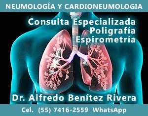 Biopsias pulmonares, Broncoscopías, Espirometrías, Electrocardiogramas, Poligrafía respiratoria.